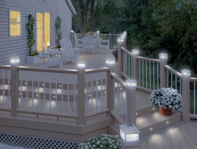 2 id es pour am nager sa terrasse ou son balcon for Eclairage balcon terrasse