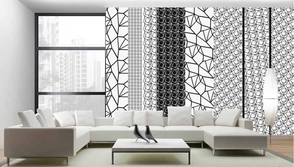 type de papier peint le papier peint qui allie de. Black Bedroom Furniture Sets. Home Design Ideas